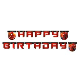 Banner Amazing Spiderman Happy Birthday
