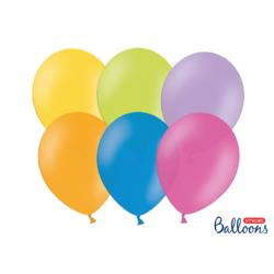 Balony Strong 27cm, Pastel Mix, 10szt.