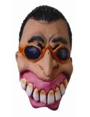 Maska Lateksowa z Okularami CM 103