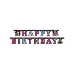 Baner Happy Birthday Monster High, 1szt.
