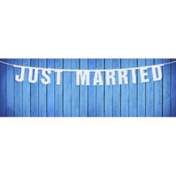 Baner Just Married, 16 x 170cm, 1szt.