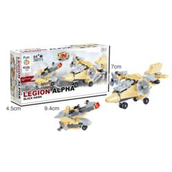 Klocki LEGION ALPHA 29107-5 Helikopter black hawk.  BZ