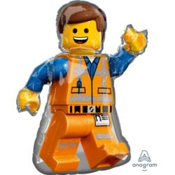 Balon foliowy Lego Movie 2 Emmet 60cm x