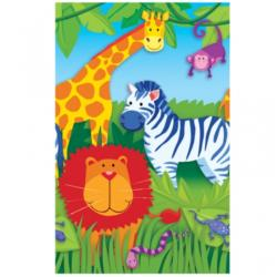 Obrus papierowy Jungle Animals, 137 x 25 9cm, 1szt.